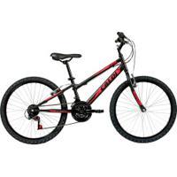 Bicicleta Caloi Max - Aro 24 - Freio V-Brake - 21 Marchas - Preto