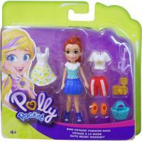 Polly Pocket Viagem De Modas Bon Voyage - Mattel - Kanui