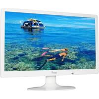 Monitor Pctop Slim 19,5 Led C/Dvi Branco- Mlb195Dvii