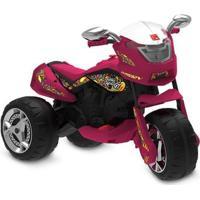 Triciclo Elétrico - 12V - Super Moto Gt - Turbo - Pink - Bandeirante