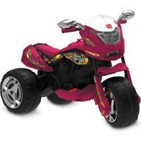 Triciclo Elétrico - 12V - Super Moto Gt - Turbo - Vermelha - Bandeirante