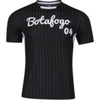Camiseta Do Botafogo Custom - Masculina - Preto/Branco