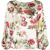 Etro Blusa Com Estampa Floral - Multicoloured