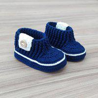 Botinha Em Crochê Para Bebê Feito A Mão Meu Ateliê Baby