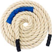 Corda Naval 36Mm Sisal Rope Training + Dvd Grátis -12M - Unissex