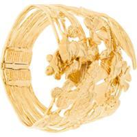 Aurelie Bidermann Bracelete 'Aurelie' Com Banho Em Ouro - Metálico