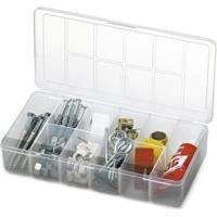 Caixa Organizadora Plástico 10 Compartimentos Transparente