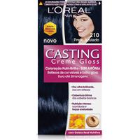 Tintura Casting Gloss L'Oreal Brasil - 210 Preto Azulado