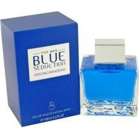 Perfume Masculino Blue Seduction For Men Antonio Banderas Eau De Toilette 100Ml - Masculino