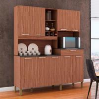 Cozinha Compacta Merlot Prime 9 Pt 1 Gv Marrom