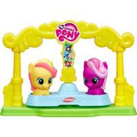 Playset Com Figuras - Playskool Friends - My Little Pony - Amigas No Carrossel - Hasbro - Feminino-Incolor