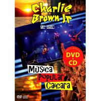 Charlie Brown Jr Ao Vivo Música Popular Caiçara - Cd+Dvd Rock