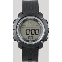 Relógio Digital Mormaii Masculino - Mo0700Aa8P Preto - Único