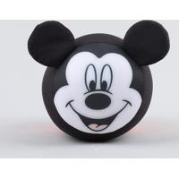 Almofada Mickey Com Orelhas E Cauda Preta - Único