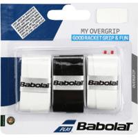 Overgrip Babolat My Grip - 3 Unidades - Preto/Branco