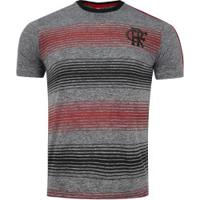 Camiseta Do Flamengo Risk 19 - Masculina - Cinza