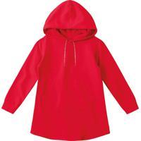 Vestido Lilica Ripilica Infantil 1011012744685 Vermelho