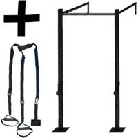 Kit 10 - Rack Standard Rk002 + Fita De Suspensão Trx - Enforce Fitness - Unissex