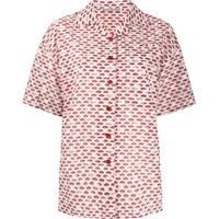 Acne Studios Camisa Mangas Curtas - Rosa