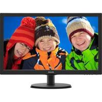 "Monitor Widescreen Com Entrada Hdmi, Led 21.5"" Philips Full Hd 223V5Lhsb2"