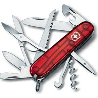 Canivete Victorinox Huntsman Vermelho Translucido 1.3713.T