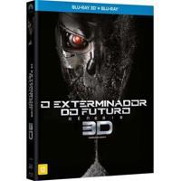 Exterminador Do Futuro Gênesis Blu Ray 3D+Blu Ray Filme Ação