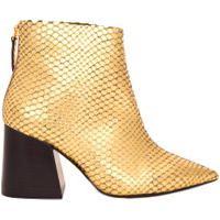 Bota Feminina Cano Curto - Dourado