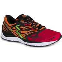 Tênis Running Masculino 361° Alpha - Vermelho