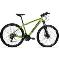Bicicleta Aro 29 Rino Everest Freio Hidraulico 20 Marchas - Pedivela Integrado - Unissex