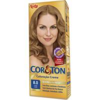 Coloração Creme Cor E Ton 8.0 Louro Claro Niely