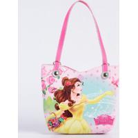 Bolsa Infantil Princesa Bela Disney