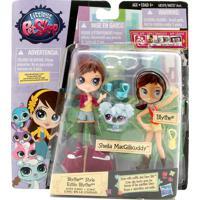 Mini Boneca Hasbro Littlest Pet Shop Lilás