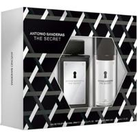 Kit Perfume Masculino The Secret Eau De Toilette 100Ml + Desodorante 150Ml - Masculino-Incolor