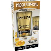 Kit Pantene 3 Minutos Milagrosos Hidro-Cauterização Condicionador 170Ml + Ampola 15Ml