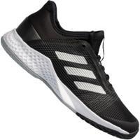 Tênis Adidas Adizero Club - Masculino - Preto/Cinza