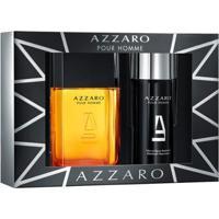 Kit Pour Homme Azzaro Coffret Eau De Toilette 100Ml + Desodorante 150Ml - Unissex-Incolor