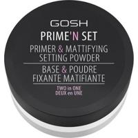 Primer Facial Gosh Copenhagen - Prime?N Set Powder Translúcido - Unissex-Incolor