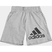 ... Short Infantil Adidas Knit Masculino - Masculino 3a4ad414a3213