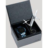 Kit De Relógio Digital Lince Unissex + Chaveiro Canivete - Sdph082L Kd79Pxdx Azul