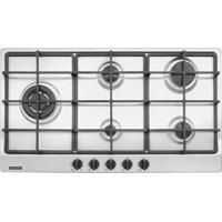 Cooktop Em Aço Inox Com 5 Queimadores - Cor Inox