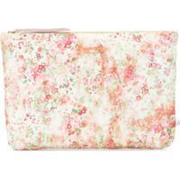 Bonpoint Necessaire Com Estampa Floral - Rosa