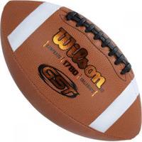 Bola Futebol Americano Gst Composite Oficial Nfl - Wilson - Unissex