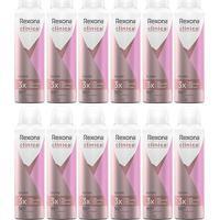 Kit 12 Desodorantes Antitranspirante Rexona Clinical Aerosol Classic 150Ml - Feminino-Incolor
