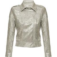 Jaqueta Perfecto Lamê Dourado