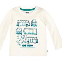 Camiseta Bebê Menino Manga Longa