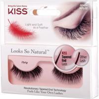 Cílios First Kiss New York Looks Natural Flirty Kf - Feminino-Incolor