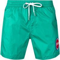 Colmar Short De Natação Com Logo - Verde