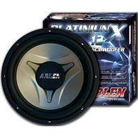 Subwoofer 12 700W Rms C/ Bobina Dupla 2 X 350W X 4Ohms Platinium 12 - Arlen