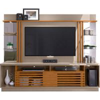 Home Theater Frizz Gold Cinza/Naturale Madetec