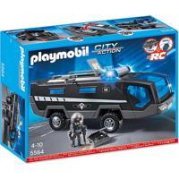 Playmobil City Action - Veículo De Comando Swat - 5564 - Masculino-Incolor